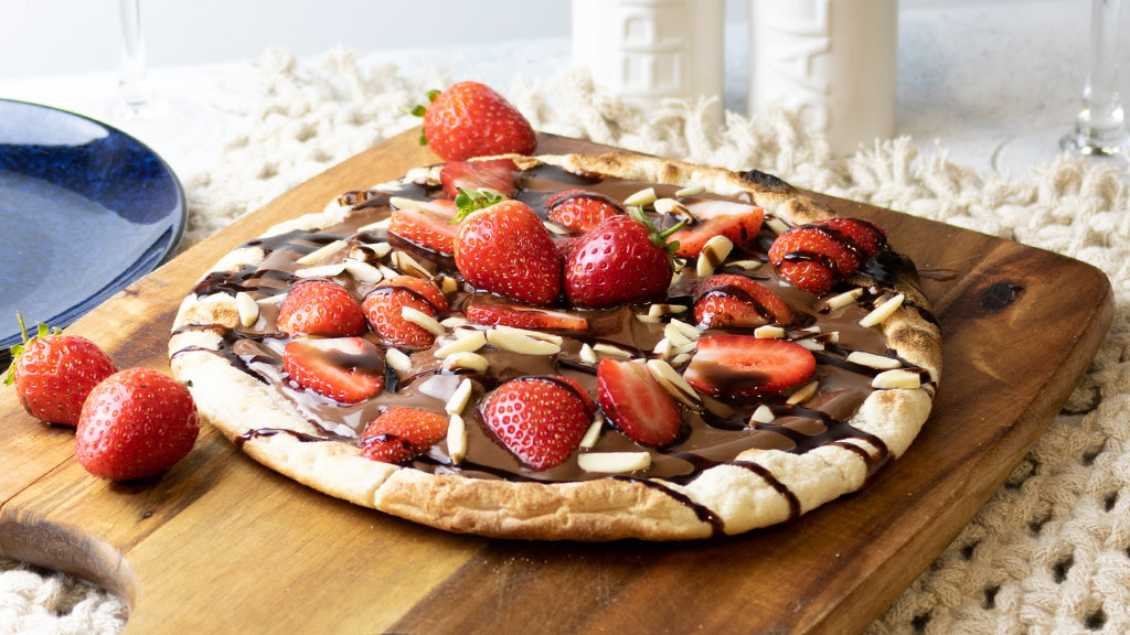 Strawberry Haze Dessert Pizza