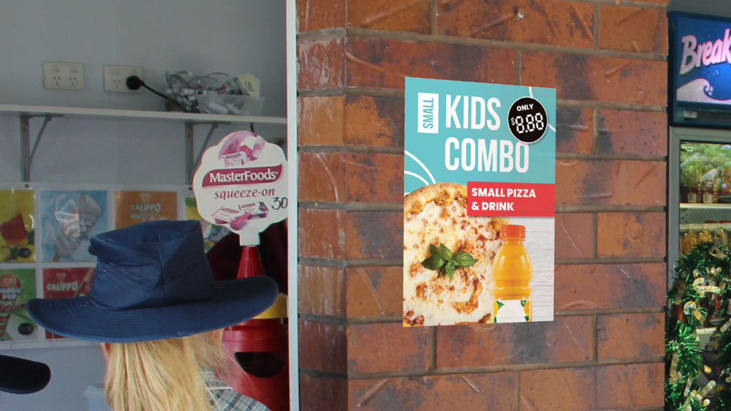 Small Kids Combo Deal Poster for Schools