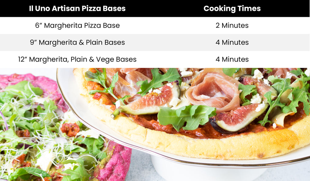 Il Uno Artisan Pizza Cooking Times
