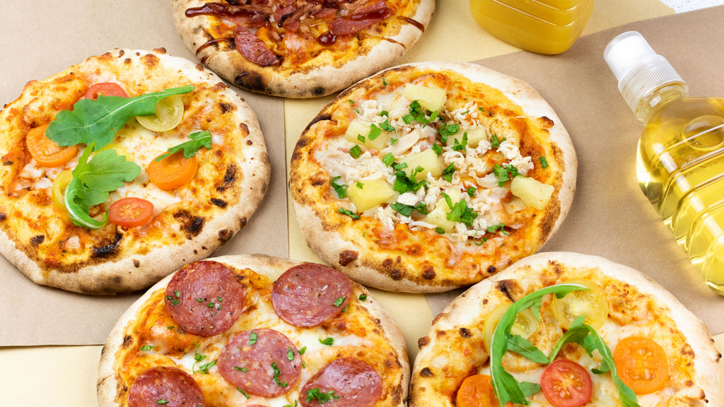 Mini Stone Baked Pizzas for Kids