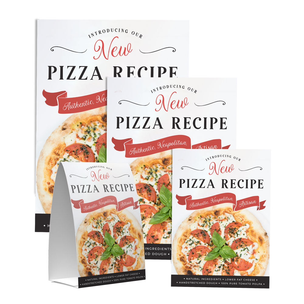 NEW PIZZA RECIPE POS COLLECTION