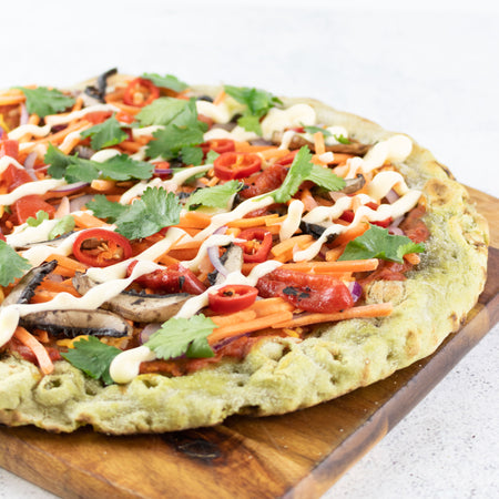 Vegetable Pizza Base - Basil