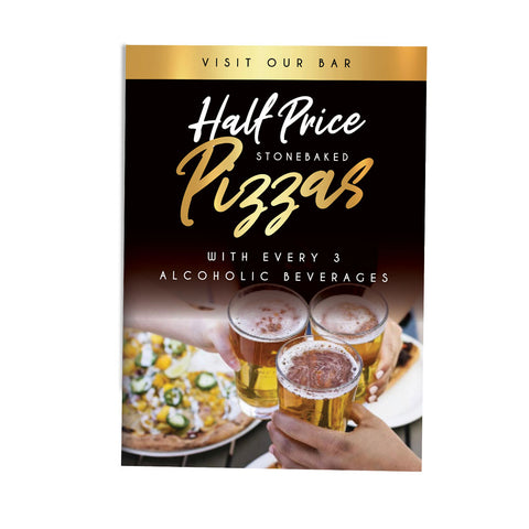 Half Price Pizza Deal - Premium Gold