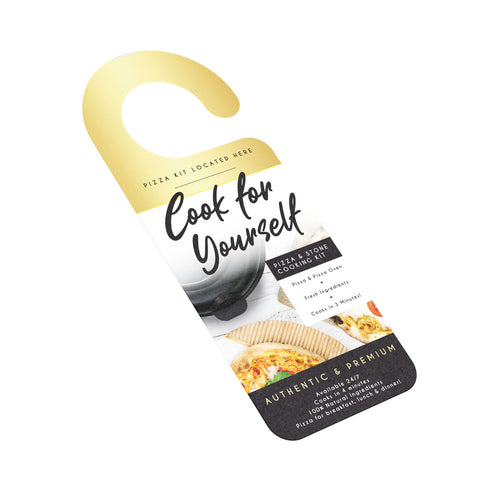 'Cook For Yourself' Stone Baked Set - Premium Gold