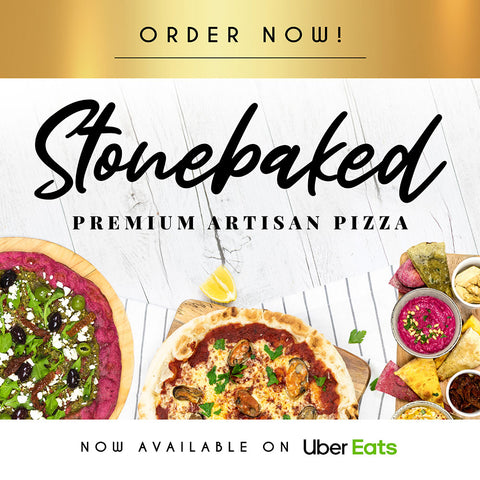 Stone Baked Pizza Delivery Digital Set - Premium Gold