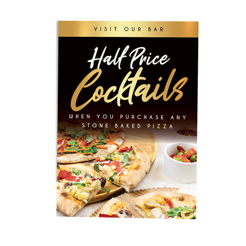 Half Price Cocktail Deal - Premium Gold