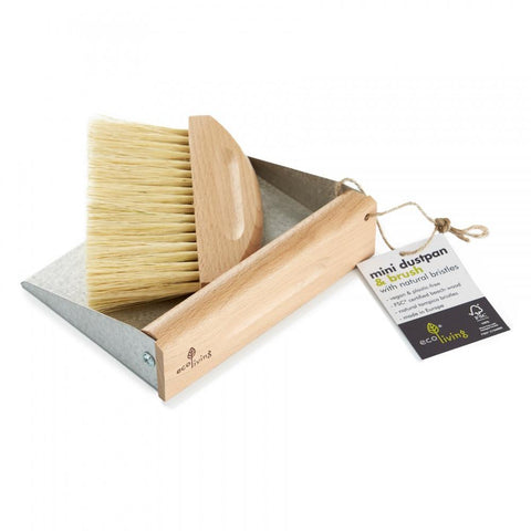 Mini Dustpan + Brush Set