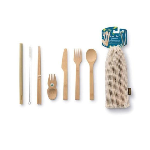 Eat/Drink Tool Kit - Bamboo