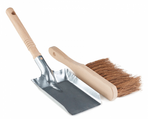 Long Handled Dust Pan + Brush Set