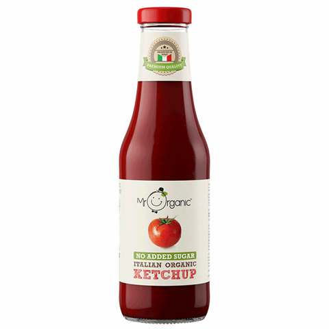 Ketchup Organic Naturally sweetened (Apple Juice) 480g