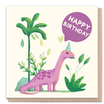 Greeting Card - Happy Birthday Dinosaur