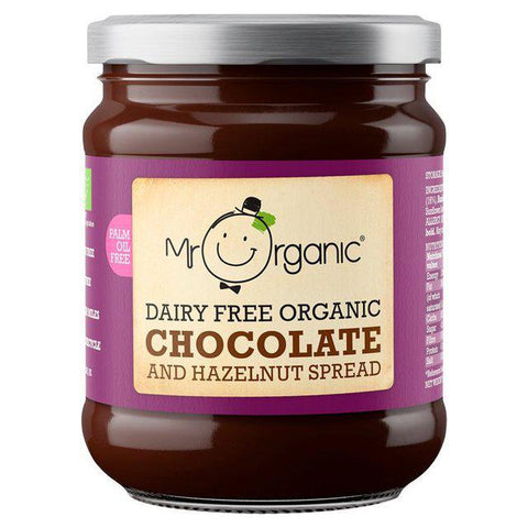 Vegan Organic Chocolate and Hazelnut Spread 200g