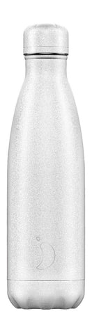 Chilly's Bottle Glitter Edition White