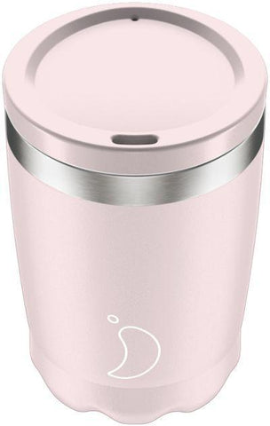 Chilly's 340Ml Coffee Cup Pink Pastel Edition
