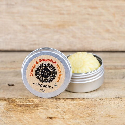 ORGANIC ORANGE & GRAPEFRUIT HAND BALM - Vegan