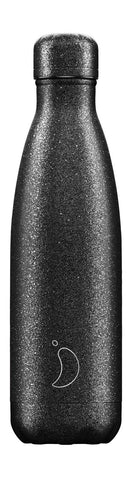 Chilly's Bottle- Glitter Edition Black