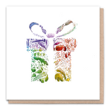 Greeting Card - Rainbow Gift