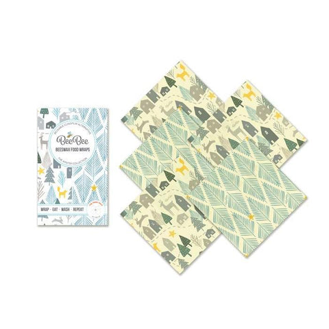 Beeswax Wraps - The Teeny Pack
