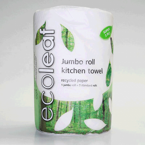 Jumbo Ecoleaf Kitchen Towels