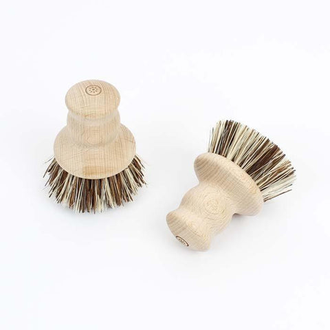 Wooden Pot Brush Scrubber