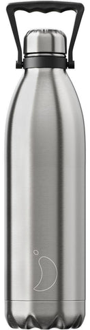 1.8L Stainless Steel X Large Chilly's Bottle