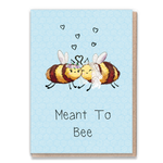 Greeting Card - meant to bee flowers