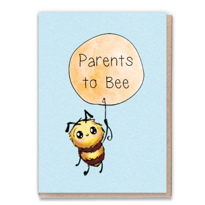 Greeting Card - Parents to Bee