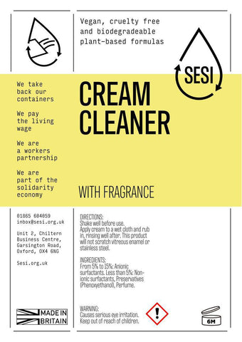 Sesi Cream Cleaner