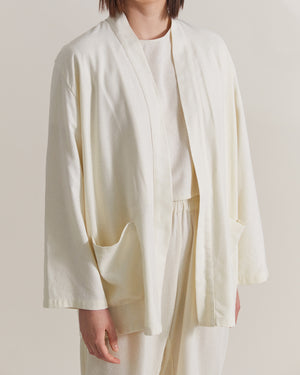 Rhea Robe - Raw Silk