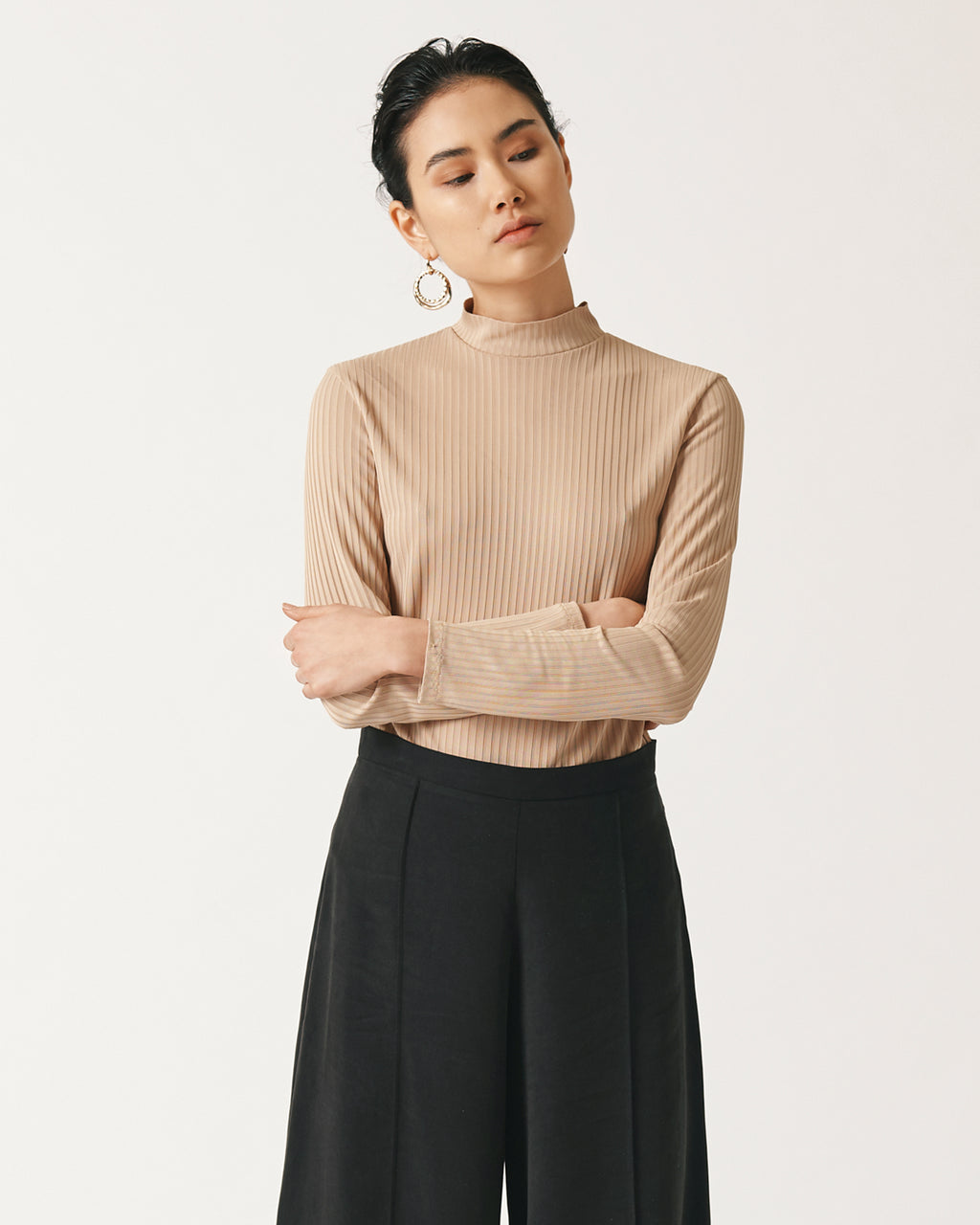 Rib Knit Turtleneck