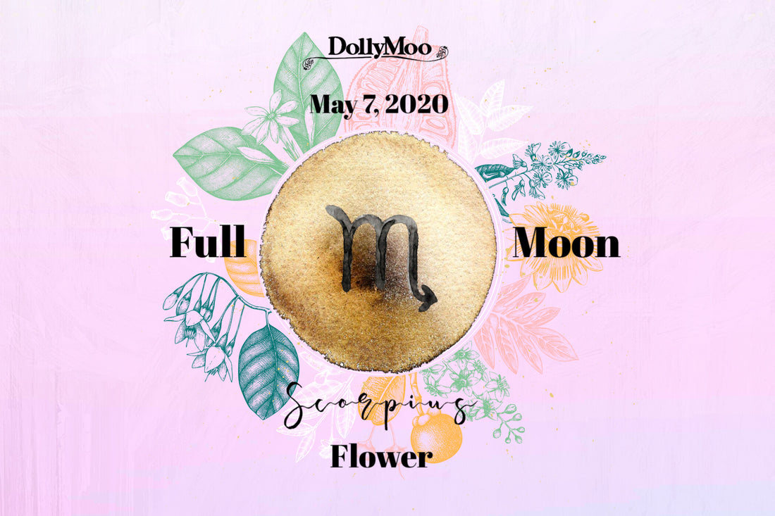 Over the Moo-n! Flower Moon...