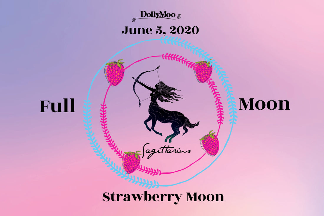 Over the Moo-n! Strawberry Moon...