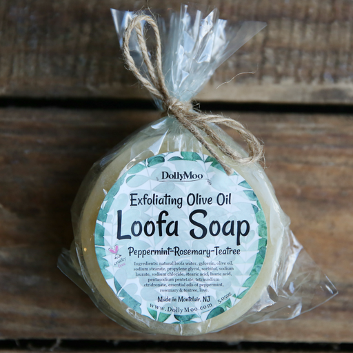 Peppermint, Rosemary, Teatree Loofa Soap