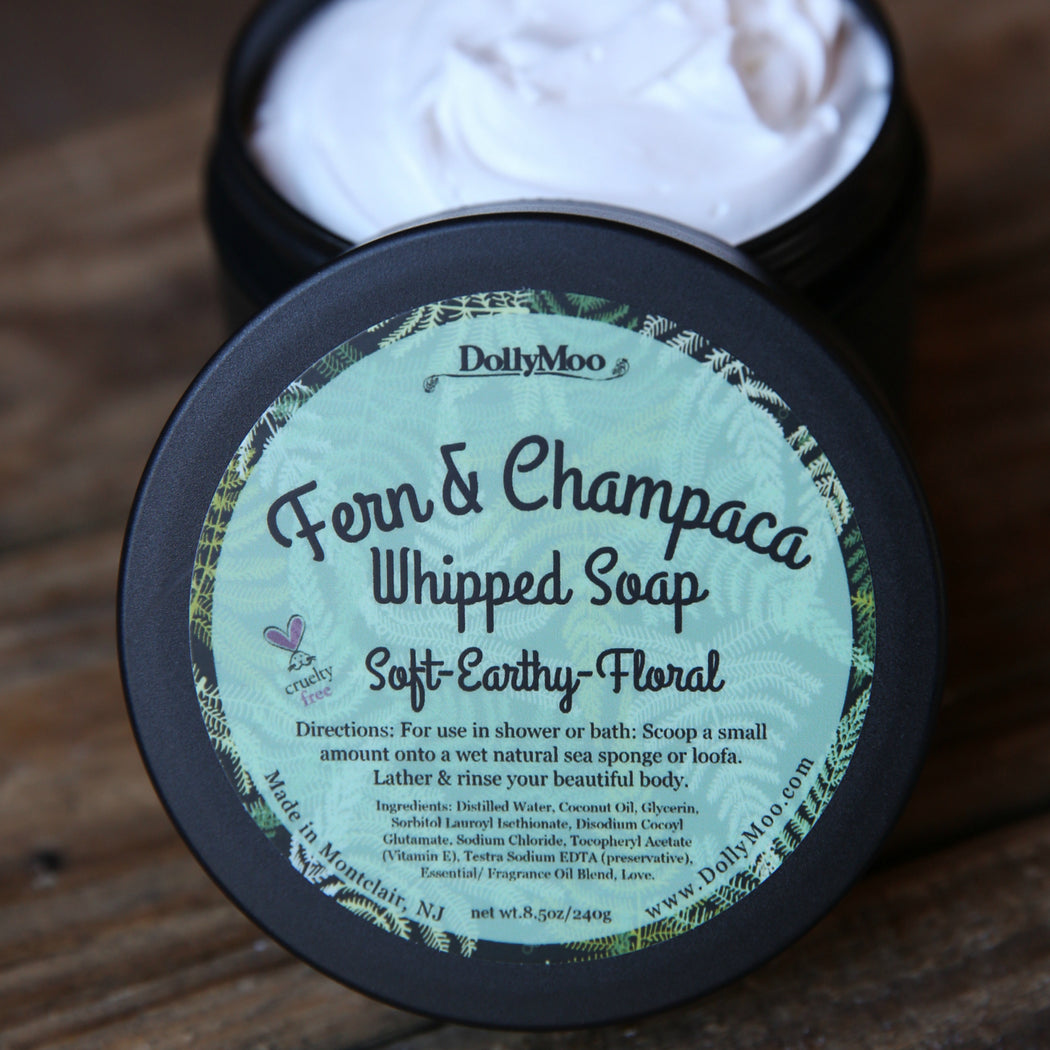 Fern & Champaca Whipped Soap