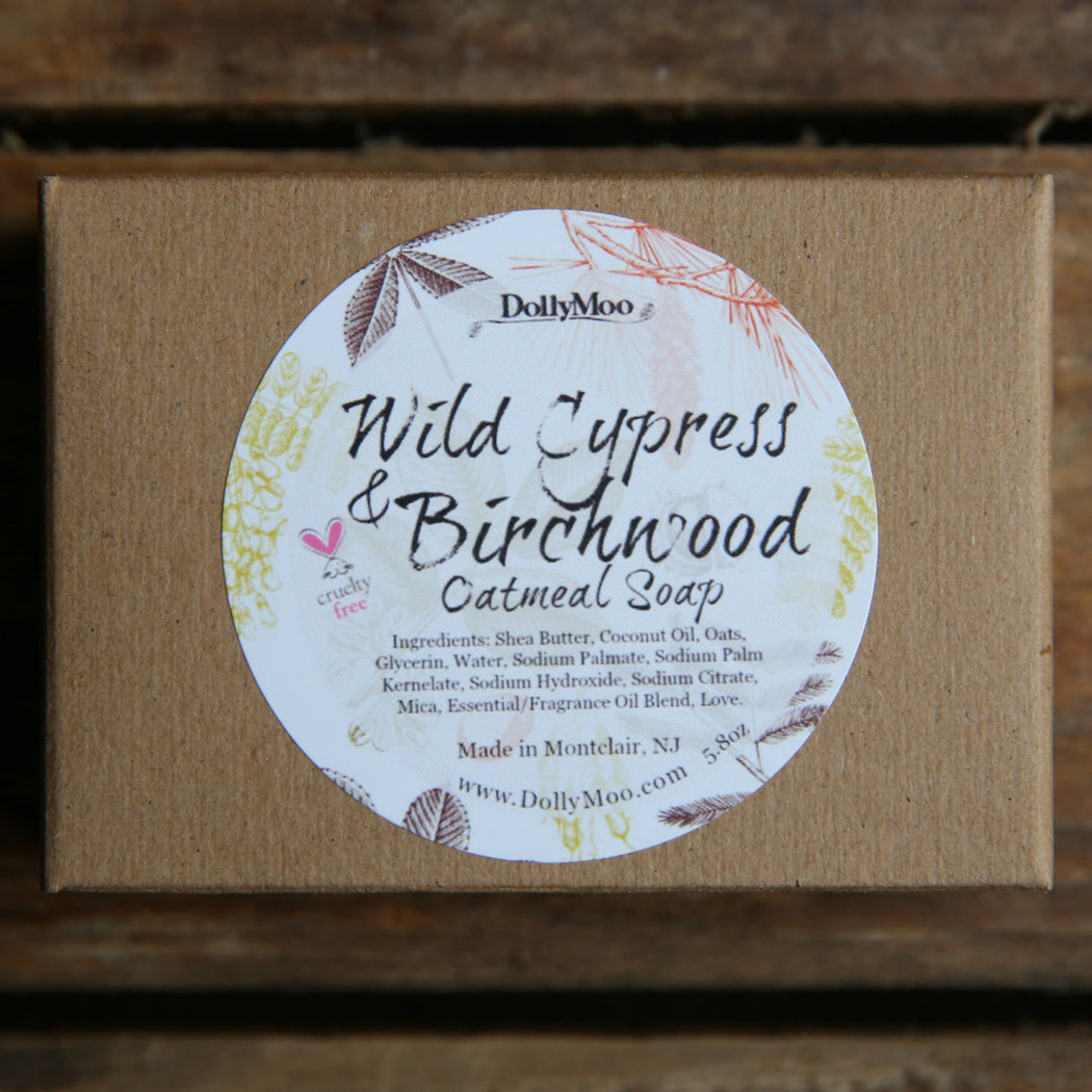 Wild Cypress & Birchwood Oatmeal Soap