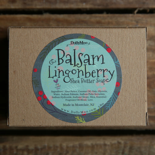 Balsam & Lingonberry Shea Butter Soap