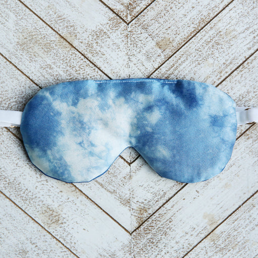 Indigo Silk Sleep Mask