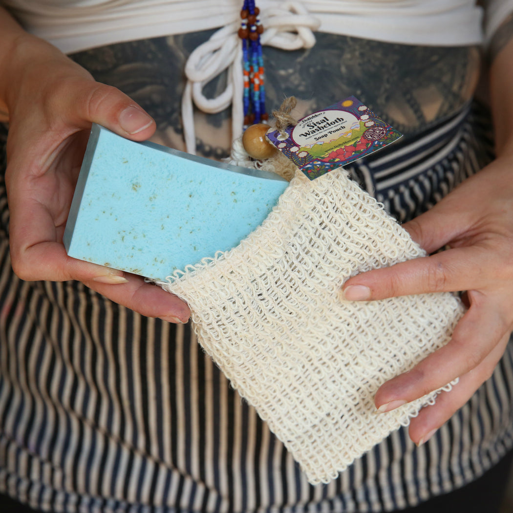 Natural Sisal Washcloth