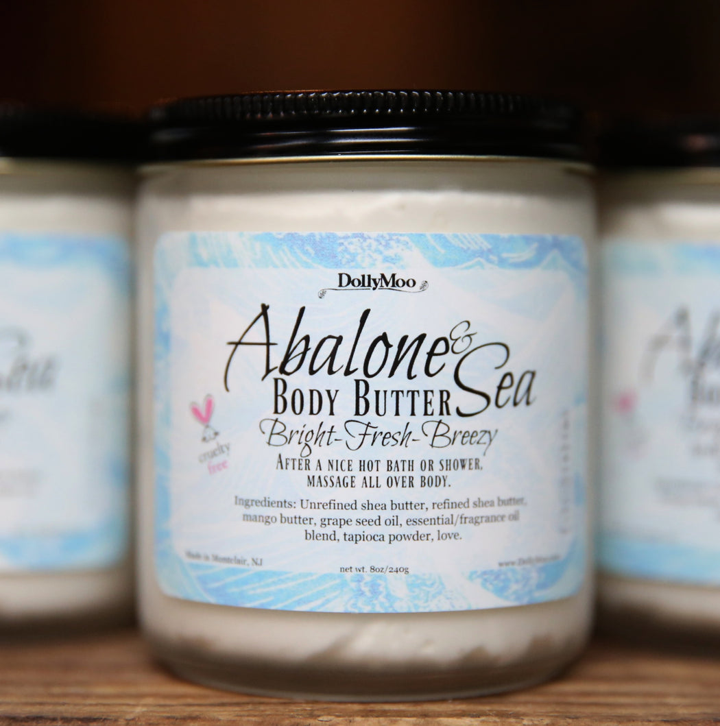 Abalone & Sea Body Butter