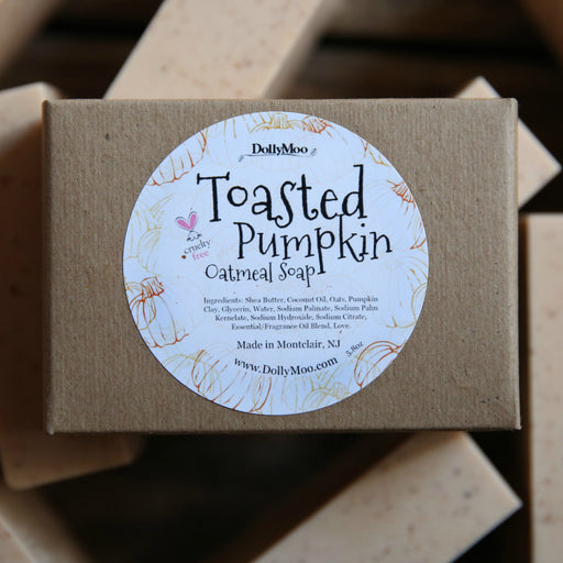 Toasted Pumpkin Oatmeal Soap