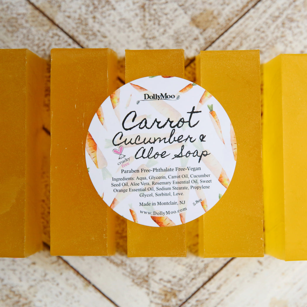 Carrot Cucumber Aloe Soap
