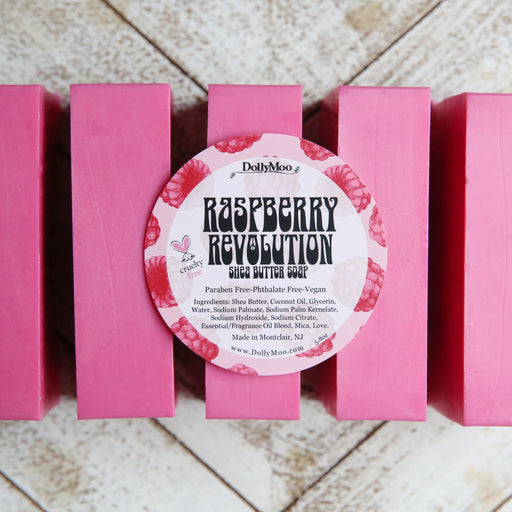 Raspberry Revolution Shea Butter Soap