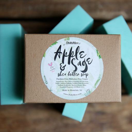 Apple Sage Shea Butter Soap