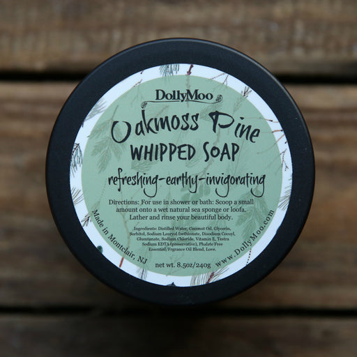 Oakmoss Pine Whipped Soap