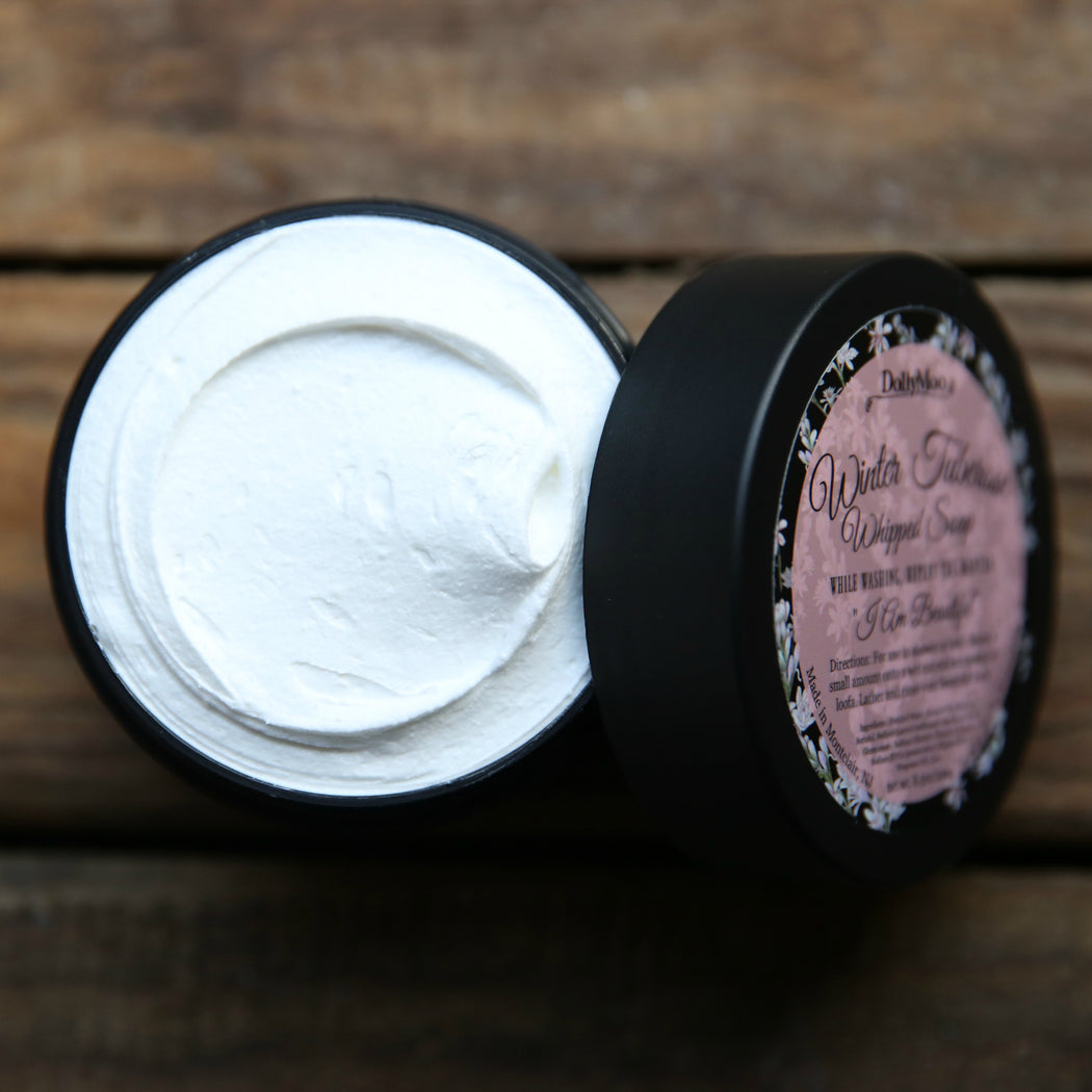 Winter Tuberose Whipped Soap