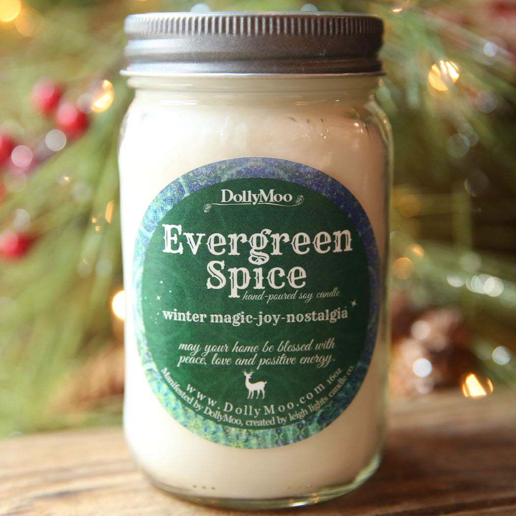 Evergreen Spice Candle