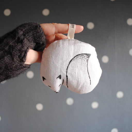 Snow Fox Ornament