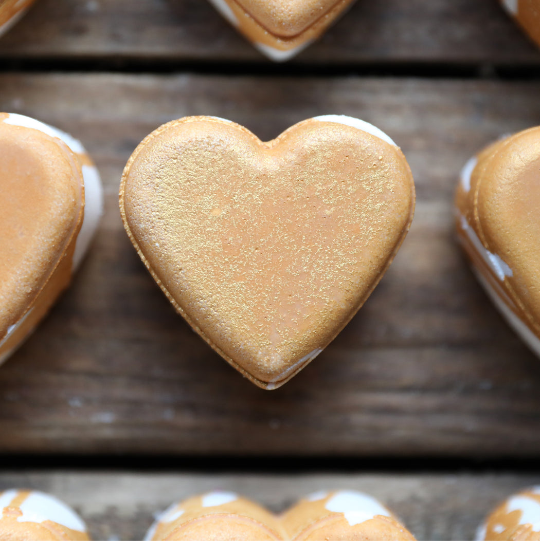 Heart of Gold Bath Bomb