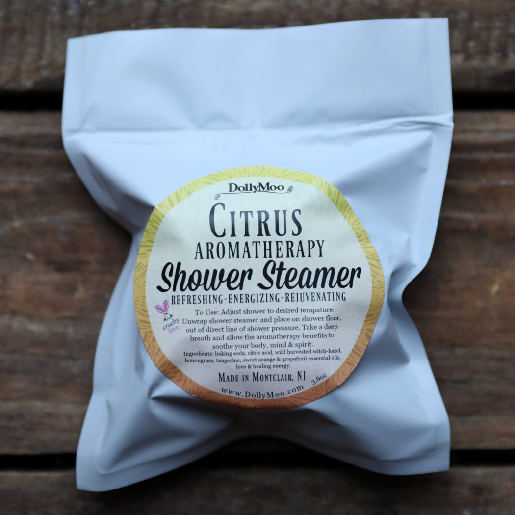 Citrus Aromatherapy Shower Steamer