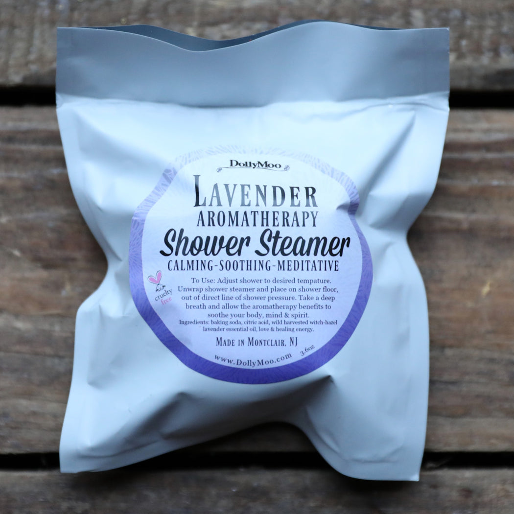Lavender Aromatherapy Shower Steamer